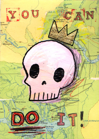 Positive Affirmation Skull