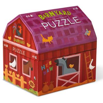 Barnyard Puzzle toy box  // Crocodile Creek // USA