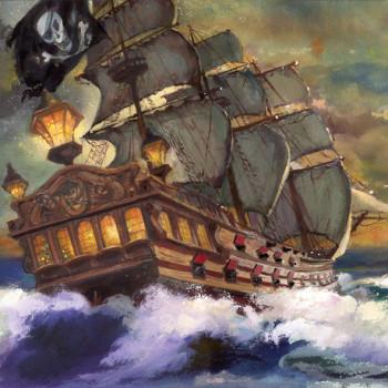 Snowbeard the Pirate's Ship