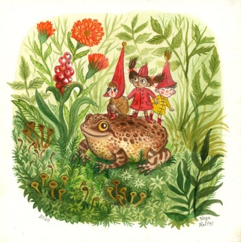 Toad and friends