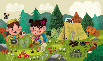 Camping Scouts