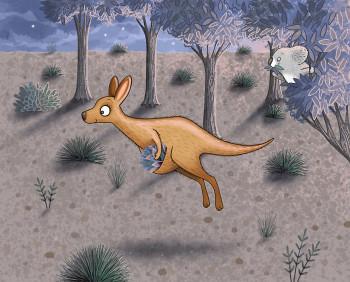Kati the Kangaroo