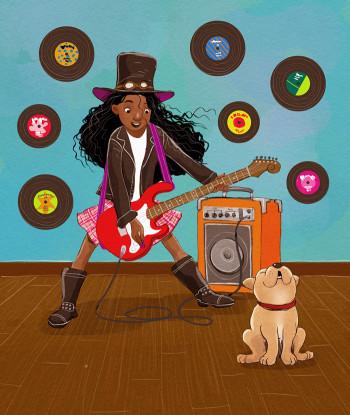 The Guitar Girl