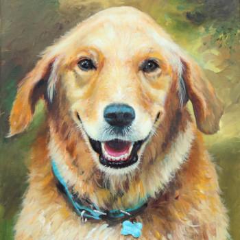 BECKET, Kristen's dog