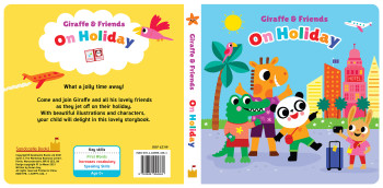 Giraffe and Friends - On Holiday