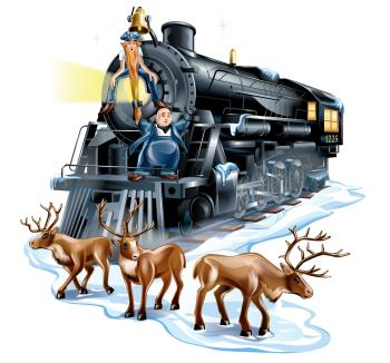 Polar Express Meets Caribou