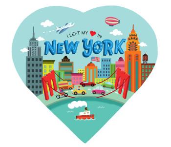 I left my heart in New York // KidsBooks Publishing // USA