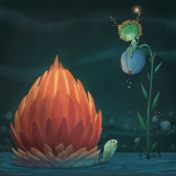 Lotus and the Shell house.