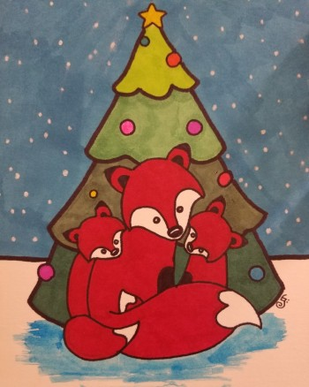Fox Family Christmas