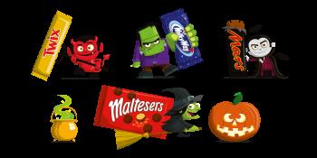 Mars Halloween Characters