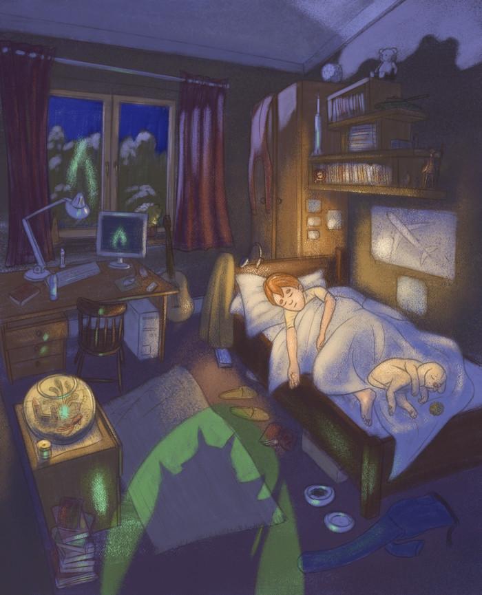 Night visitor - The Sorcerer's Dog