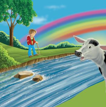 River Boy and Rainbow