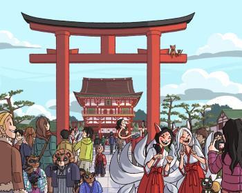Fushimi Inari - The Gate Welcome You