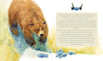 'The Bear tricked by the Fox', personal project, 2020