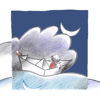 ¿Dónde duerme la luna? (Where does the moon sleep?)