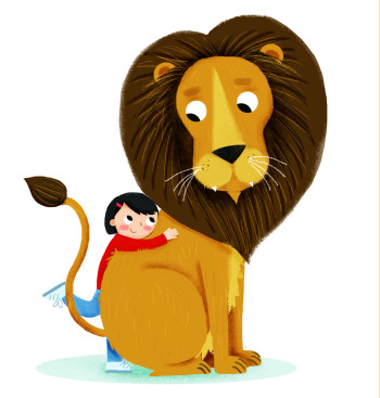 Lizzie and the Lion