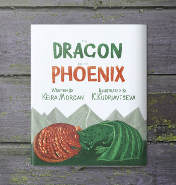 The Dragon and the Phoenix (The cover book)