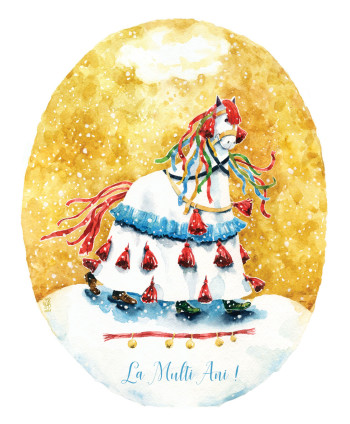 'Christmas Horse'