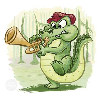 Dizzy Gator