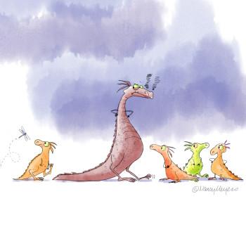 Little Dragon Dragging