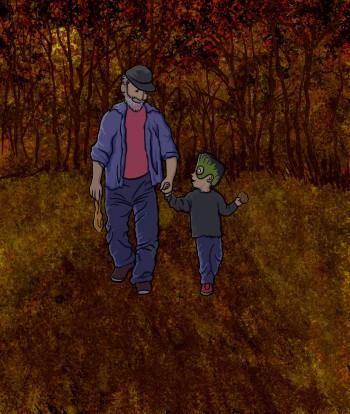 Grandpa and Granson