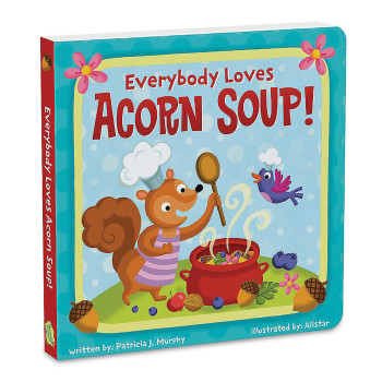 Everybody loves Acorn Soup Book + game // Peaceable Kingdom // USA