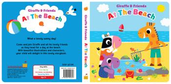 Giraffe and Friends - At the Beach