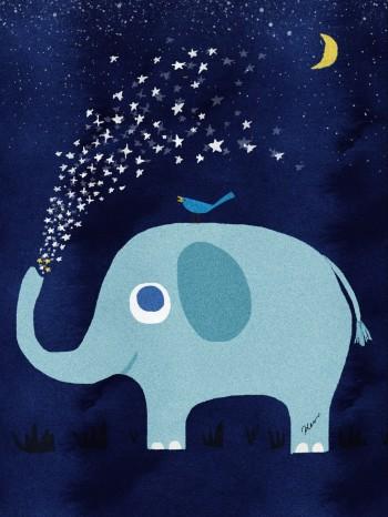 It's a wonderful, starlit night.