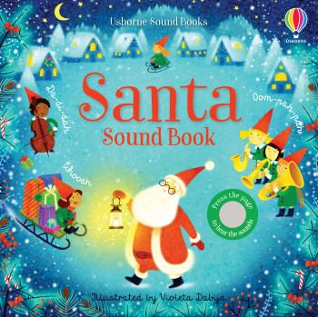 """""""Santa Sound Book"""" Cover"""