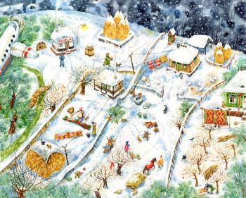 'Countryside Winter'