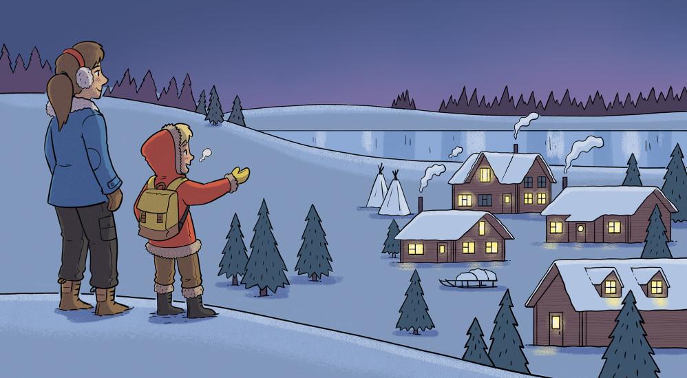 Where Does The Sun Go In Winter? - Harper Collins