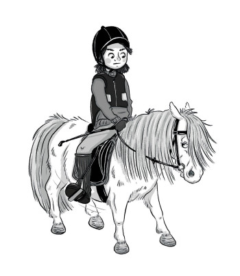 Illustration from chapter book