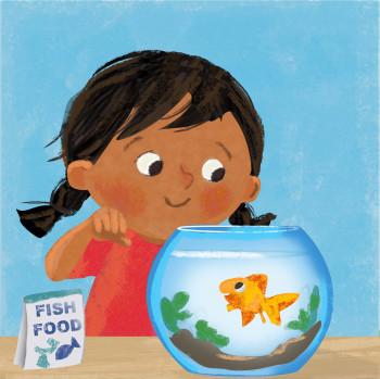 Renu and Rosie the Fish
