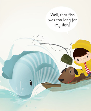 Illustration from `A Wish for a Fish` children's book
