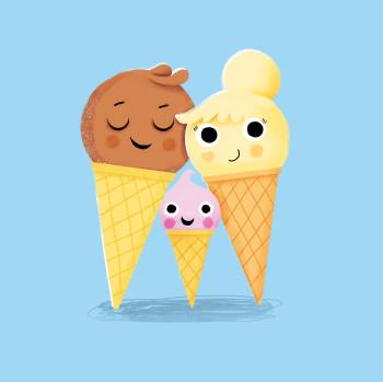 Ice cream family