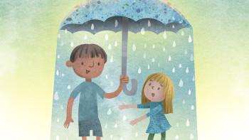 Opposite Umbrella