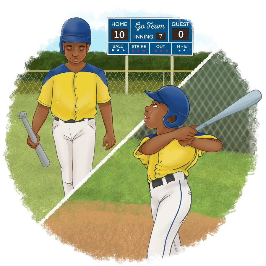 Motivational Baseball Picture Book