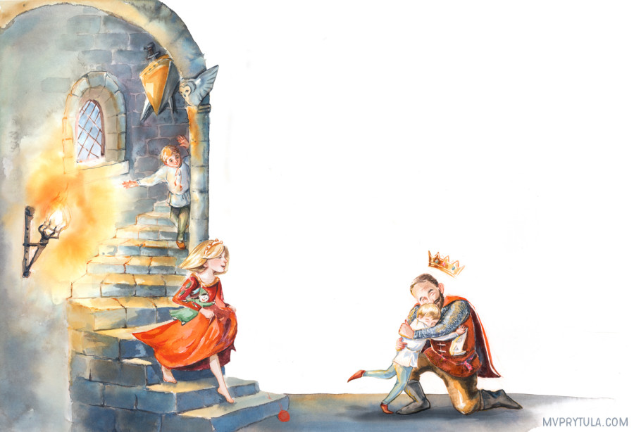Medieval Picture Book Client Project