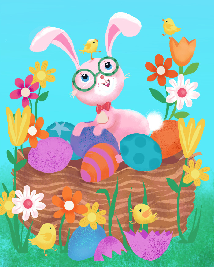 You'll Love These 11 Adorable Easter 2020 Illustrations!