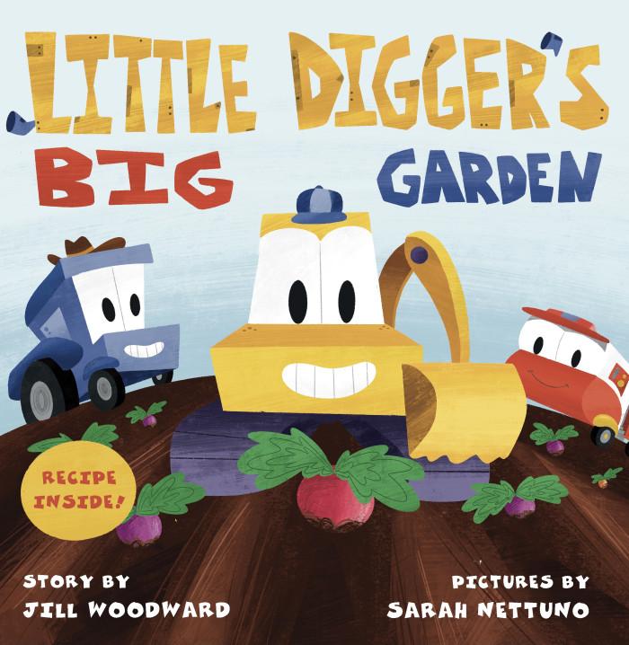 Little Digger's Big Garden complete!