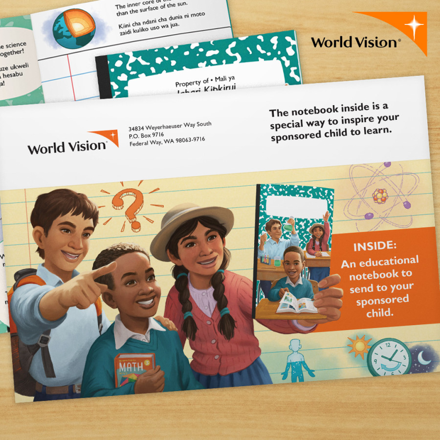 World Vision Back-to-School Notebook