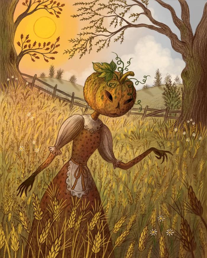 Halloween artwork