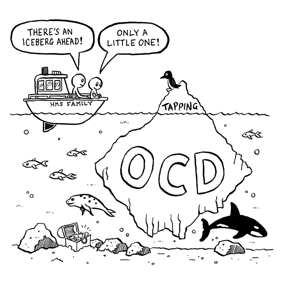 """""""Touch and Go Joe"""", advice for or teens with OCD"""