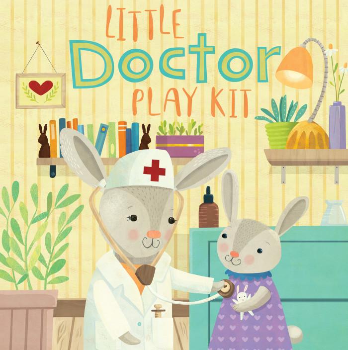 Little Baker and Little Doctor play set packaging