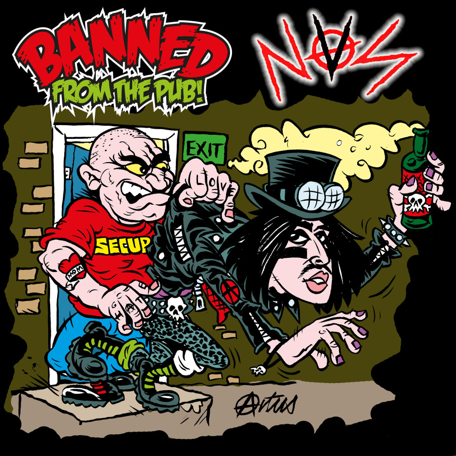 NVS Punk album cover art commissioned