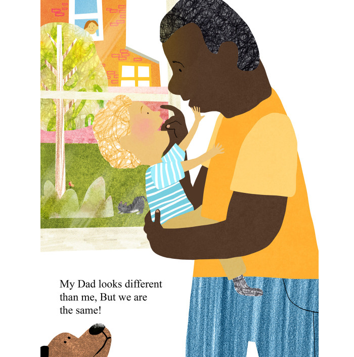 16 Adorable Illustrations for Fathers' Day