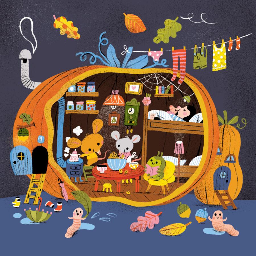 Hey! It's the Great Autumn Pumpkin Illustration Collection!