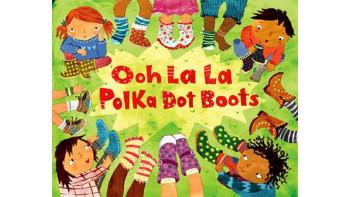 Ooh La La Polka-Dot Boots