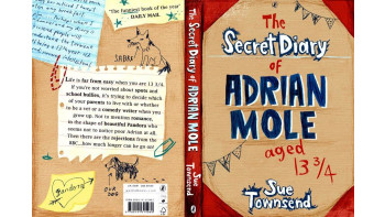 Adrian Mole book cover mock-up