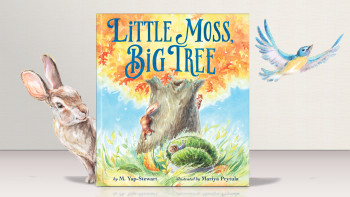 Little Moss, Big Tree picture book acquired by Qingdao Publishing in China